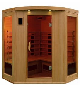 4 person ECO Corner Sauna